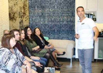 Scott Gwilliam Teaching his Designer CEU Course At A Scottsdale Showroom